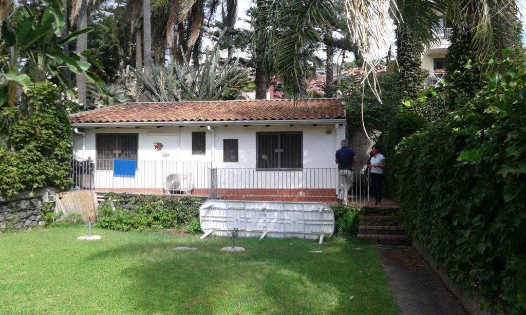 La casa prima dell'intervento